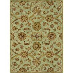 Alexander Home Hand-tufted Knightley Wool Rug (Green (7'10 x 11'0)), Size 7'10 x 11'