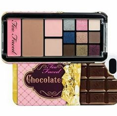 Too Faced Iphone Case & makeup Palate Too Faces IPhone Case & Makeup Palate  New , Still in packaging Too Faced Makeup
