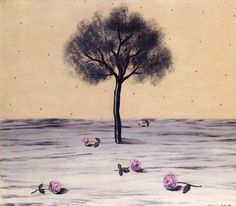 """""""Les Fleurs du Voyage (Las flores del viaje). René Magritte, 1926. """""""