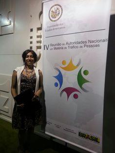 Brasilia .OEA IV REUNION SOBRE TRATA Y TRAFICO  Palacio Itamaraty