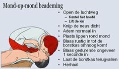 mond op mond beademing #EHBO Simpsons Funny, First Aid, Scouting, Training, Humor, Heart, School, Tips, Vocabulary