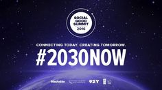 Here are the official dates for the 2016 Social Good Summit - http://eleccafe.com/2016/05/26/here-are-the-official-dates-for-the-2016-social-good-summit/