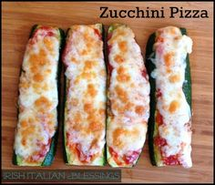 Yummy Recipes: Zucchini Pizza – Easy & Healthy Alternative recipe