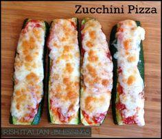 Yummy Recipes: Zucchini Pizza – Easy & Healthy Alternative recipe