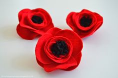 How to Make Felt Flowers | Poppies | The Things She Makes