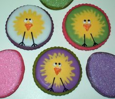 Easter chick cookies by Jillfcs