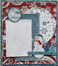 Snow Mini Album -My Creative Scrapbook-