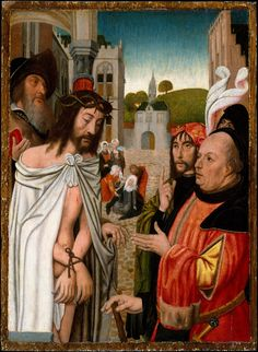 Christ Shown to the People. Artist: Jan Mostaert (active by 1498–died 1555/56)