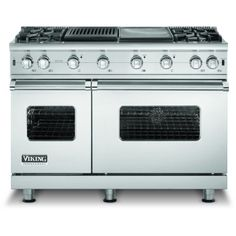 d796606234f Viking VGCC548-4GQLP 48-Inch Professional Series Propane Gas Range With 4  Burners And