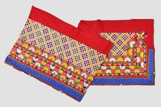Banjara Costume Border Lace Original Kutch Embroidery   Etsy Gypsy Style, Boho Gypsy, Hippie Boho, Handmade Mirrors, Vintage Patches, Tribal Women, Lace Border, Best Wear, Vintage Textiles
