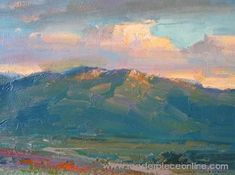 ovanes berberian paintings | Evening Clouds