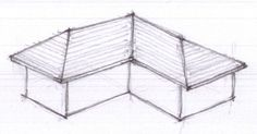 Cross hipped roof (Roofs - TotalConstructionHelp)
