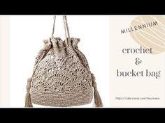 Crochet Bag Tutorials, Crochet Doily Patterns, Crochet Videos, Crochet Handbags, Crochet Purses, Crochet Bags, Crochet Backpack Pattern, Mochila Crochet, Crochet Market Bag