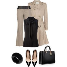 """""""belted trousers"""" by divacrafts on Polyvore"""