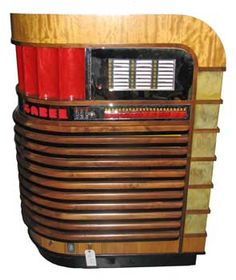 awesome 1940s juke box