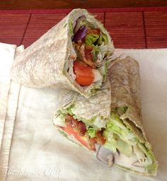 Turkey Club Wraps from Cooking Lights Real Family Food Cookbook via Taking On Magazines
