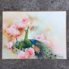 """""""Home"""" watercolor painting for the Auction!!! I did it for helping Green…"""