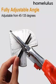 Quick-Cut Mitre Shears – Dremel Idee – Home crafts Dremel, Life Hacks Diy, Plastic Trim, Miter Saw, Diy Tools, Crafting Tools, Hand Tools, Home Repair, Cool Gadgets