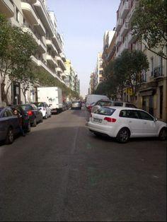 Calle Lope de Rueda en Madrid, Madrid