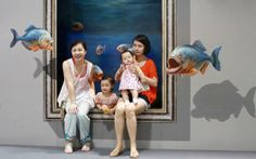 15 Amazing 3D paintings,Exhibition Of China 2012...