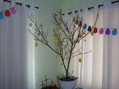 Nossa Árvore de Páscoa ou Osternbaum 2015.