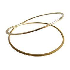 BETTY COOKE Gold Orbital Bracelet