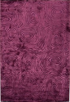 Modern Abstract Pattern Viscose/Chenille Rug by Jaipur Rugs on Gilt Home - love the color Purple Home, Pink Purple, Purple Rugs, Jaipur Rugs, Modern Area Rugs, Accent Rugs, Online Home Decor Stores, Throw Rugs, Abstract Pattern