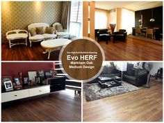Love this flooring design? Evo HERF – Markham Oak Medium Design offers a realistic, luxurious wooden design feel while also being efficiently 100% waterproof and termite free.  Visit http://www.evorich.com.sg/contact.aspx for more enquiries!  #EVORICH #Singapore #EvoHERF#PhotooftheDay #HDB #Flooring #InteriorDesign #LivingRoomDesign #EVORICHHERF #HERFFlooring #BedroomDesign