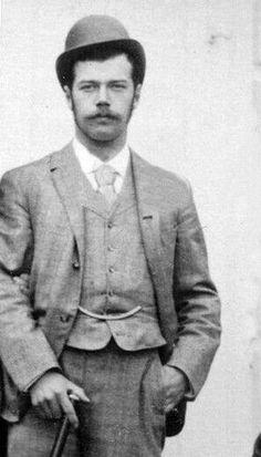 Young Nicholas II