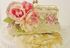 Easter Handbag / Vintage Wedding // Victorian by PetiteVintageBags, $120.00
