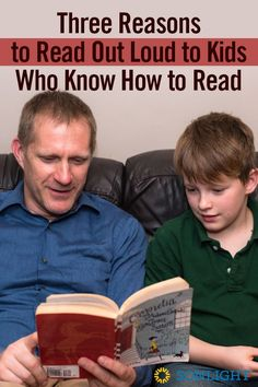 Three Reasons to Read Out Loud to Kids Who Know How to Read
