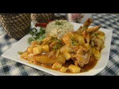Laci bácsi konyhája - Édes-savanyú csirkeszárnyak - YouTube Potato Salad, Potatoes, Chicken, Meat, Ethnic Recipes, Food, Youtube, Potato, Essen