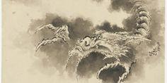 葛飾北斎ー葛飾北斎 龍図:Hokusai Katsushika-Dragon