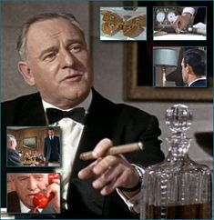 'M', Admiral Miles Messervy, played by Bernard Lee in the first 11 Bond Films!