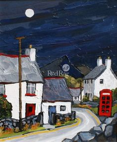 David BARNES - Road through Roewen