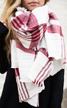 The cutest winter scarf!