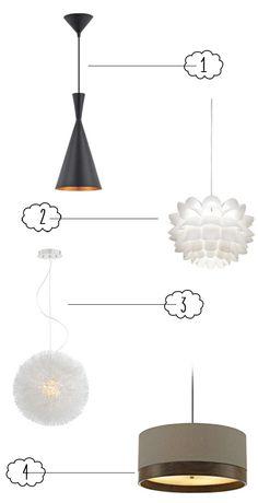 Trina's Picks for Modern Pendant Lighting @Euro Style Lighting