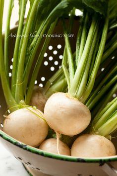 Japanese Turnips roasted