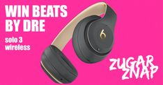WIN a pair of BEATS SOLO 3 Wireless Headphones With up to of battery life, Beats Solo 3 headphones are perfect for whatever you are doing. Wireless Headphones, Beats Headphones, Beats Solo 3, Free Competitions, Worst Day, Beats By Dre, Pairs, Products, Ballet