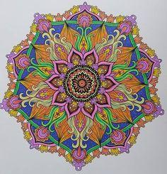 ColorIt Mandalas Volume 2 Colorist: Diane Morrow #adultcoloring #coloringforadults #mandalas #mandalastocolor