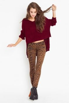 Love these pants but don't know if I can pull them off. PlayMe Leo Zip Pants $130 on #nastygal.