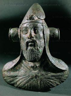Antiochos IV Kyrrhos, King of Commagene CE) Cat. Human Sculpture, Sculpture Head, Bronze Sculpture, Persian Empire Map, Ancient History, Art History, Parthian Empire, Persian Warrior, Ancient Persian