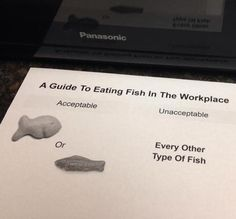 A Guide To Eating Fish In The Workplace