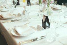 Hochzeit - schöne Idee für Tischdeko