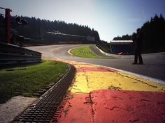 Eau Rouge of Circuit de Spa-Francorchamps, Belgium Grand Prix Race Track... Oh, how I'd love to drive that circuit one day!