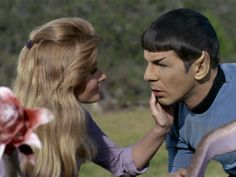 Star Trek OS: this side of paradise, Jill Ireland (wife of Charles Bronson) with…