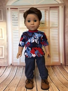 cf29fe6eae109 36 Best Logan's outfits images in 2019 | Boy doll clothes, American ...