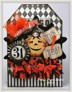 plan b was a-ok Halloween Arts And Crafts, Halloween Tags, Halloween Projects, Holidays Halloween, Halloween Pumpkins, Halloween Decorations, Chic Halloween, Halloween Ornaments, Halloween 2020