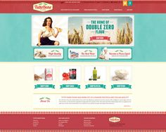 Web design by flawless #POTD99 12.16.2013 #vintage #food #texture