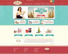 Web design by flawless #POTD99 12.16.2013 #vintage #food #texture